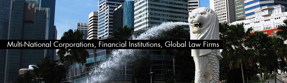 Multi-National Corporations, Financial Institutions, Global Law Firms